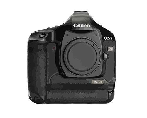 Canon EOS 1D Mark III Reparatur