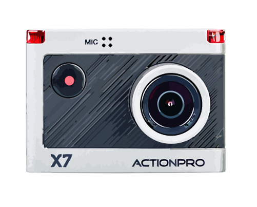 Actionpro X7 Reparatur
