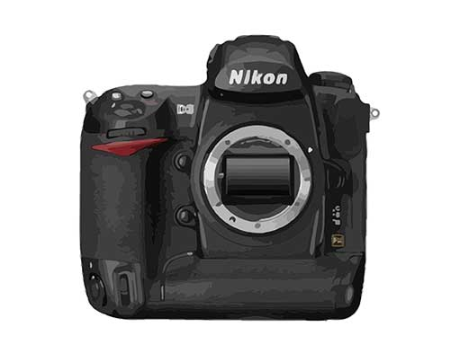 Nikon D3 Reparatur