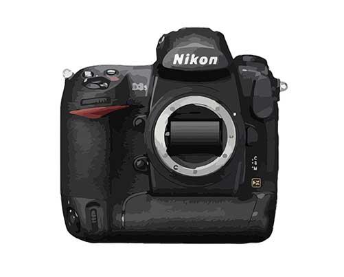 Nikon D3s Reparatur