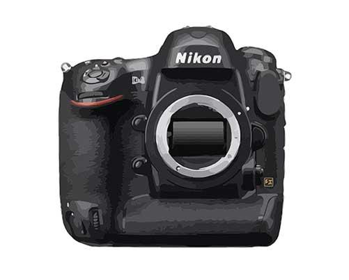 Nikon D4 Reparatur