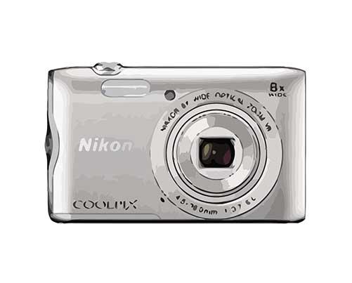 Nikon Coolpix A300 Reparatur