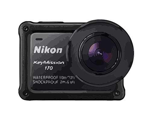 Nikon KeyMission 170 Reparatur