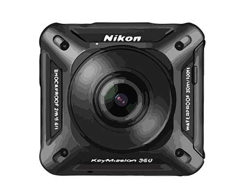 Nikon KeyMission 360 Reparatur