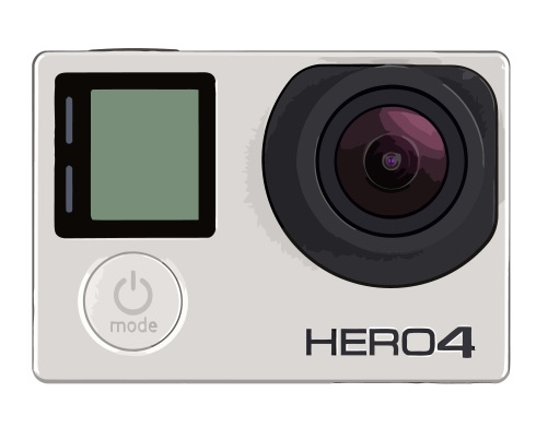 GoPro Hero 4 Black Edition Reparatur