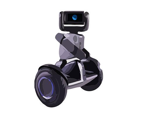 Seqway Robot Loomo Reparatur